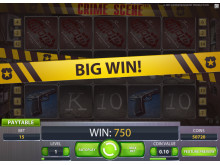 Crime Scene Slotmachine