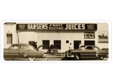 Hansen's Natural Cane Sodas- med anor från 1930!