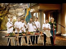 """The chefs at """"Kockarnas Krog"""""""