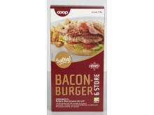 Coop Baconburger