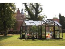 Svart växthus Skånska Byggvaror