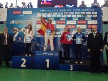 Trine Hammerø fra Molde Taekwon-Do Klubb vant EM-bronse