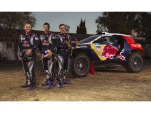 Team Peugeot Total er klar til Dakar Rally