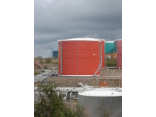 Cistern värmereflekterande färg pressbild