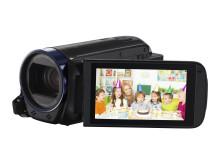 Legria HF R66 bk FSL lensside