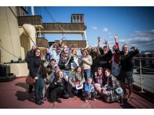 Miljöpolitik som lajv – Baltic Warriors i Stockholm