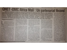 QNET in Mali's Printemps Newspaper