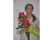 Josefin Uhnbom lycklig stipendiat
