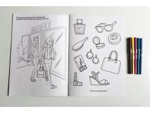 Design to die for - en målarbok från 18 år