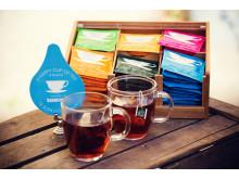 Te är efter vatten världens näst mest druckna dryck