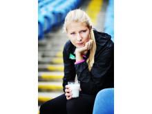 Daniella Busk från MAI är en av Sveriges nya friidrottstalanger