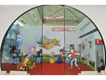 Turkish Airlines Business Lounge för barn