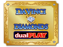 DaVinci Diamonds slot på Vera&John Casino