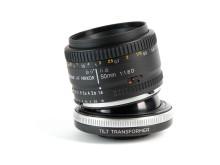 Lensbaby Tilt adapter med Nikonoprik