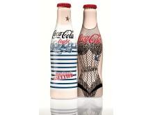 """Flaskene """"Night"""" og """"Day"""" fra Jean Paul Gaultiers eksklusive kolleksjon for Coca-Cola light"""