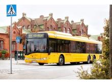 Regionbuss 123 går från Kävlinge till Lund