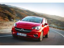 Nya Opel Corsa 1.3 CDTI ecoFLEX - den mest ekonomiska Opelmodellen på marknaden.