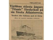 Trollhättan och Titanic