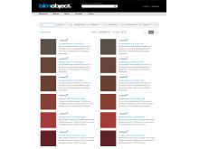 Europas ledande tillverkare av fasadskivor - Ivarsson - publicerar BIM objekt på BIMobject Portalen - skärmbild