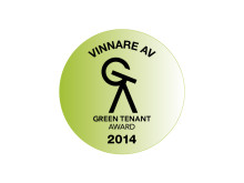 Vinnare av Green Tenant Award 2014