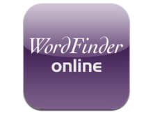 WordFinder Online i din iPhone