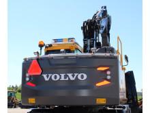 MittX motviktsbåge - Volvo grävmaskiner (bakifrån)