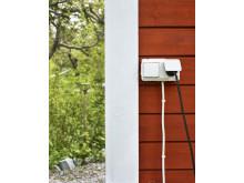 Kombinerat vägguttag/ strömbrytare