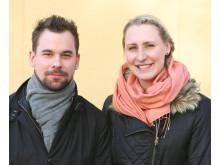 Andreas Telander och Jessica Fahlgren