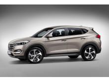 Nye Hyundai Tucson - front/side