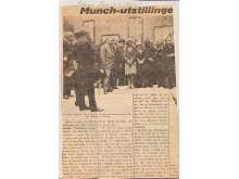 Munch-utstillingen 1927, Tiden Tegn, 9. juni 1927