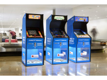 Charity Arcade at Stockholm Arlanda Aiport and Göteborg Landvetter Airport