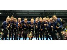 EM-guld till svenska damlaget i truppgymnastik