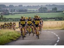 Team Rynkeby på väg
