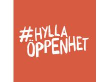 #hyllaöppenhet logo FRI ANVÄNDNING