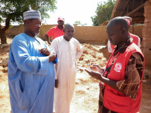 Nigerias Röda Kors bistår nödställda