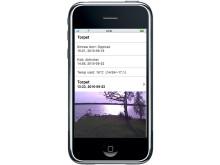 Larm som ger full kontroll på fritidshuset via din iPhone