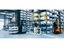 Toyota SpotME - nyt advarselssystem øger sikkerheden på lageret