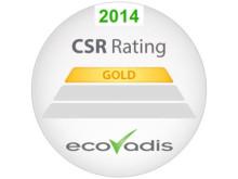 Toyota Material Handling sai jälleen Ecovadiksen kultatason sertifikaatin