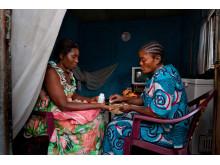 Claudine, Kongo-Kinshasa,