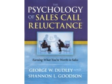 "Framsidan till boken ""The Psychology of Sales Call Reluctance"""