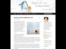 Carolinas blogg Släpp loss din inre livskonstnär!