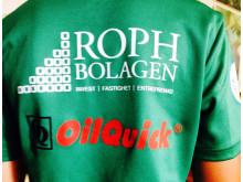 Roph, Oilquick baksida Celtic/HuFF tröja