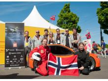 Høgskolen i Østfold var meget fornøyde med egen innsats etter helgens Shell Eco-marathon