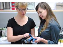 Anja Lund och Katharina Bredies