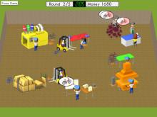 Screenshot spel för träning