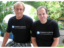 Dr Stefan Redén och Gunnar Hällgren