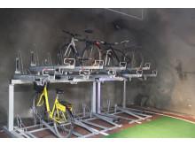 Invigning av Stigbergsgaraget - cykelparkering