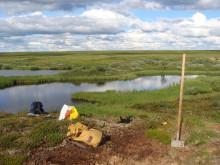 Bild från forskningsexpeditin för att undersöka permafrostens utbredning