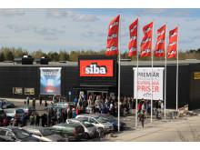 Bild över Boglundsängen och parkeringen till SIBA Örebro