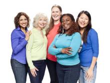 Mammografibilde - Kvinner i gruppe